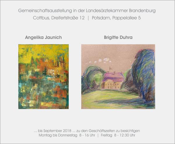Ausstellung Brigitte Duhra